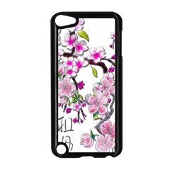 Cherry Bloom Spring Apple Ipod Touch 5 Case (black)