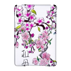 Cherry Bloom Spring Apple iPad Mini Hardshell Case (Compatible with Smart Cover)