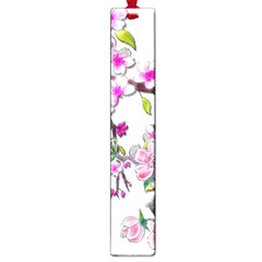 Cherry Bloom Spring Large Bookmark