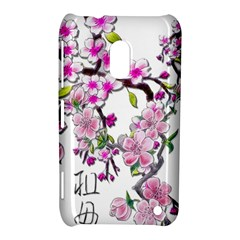 Cherry Bloom Spring Nokia Lumia 620 Hardshell Case