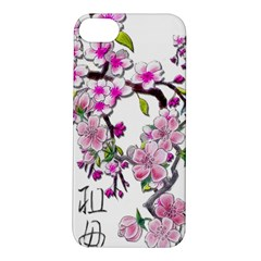 Cherry Bloom Spring Apple iPhone 5S Hardshell Case