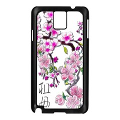 Cherry Bloom Spring Samsung Galaxy Note 3 N9005 Case (Black)