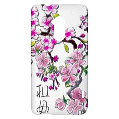 Cherry Bloom Spring HTC One Max (T6) Hardshell Case