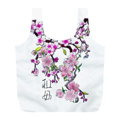 Cherry Bloom Spring Reusable Bag (l)