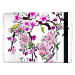 Cherry Bloom Spring Samsung Galaxy Tab Pro 12 2  Flip Case