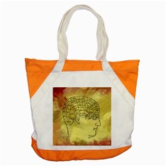 Brain Map Accent Tote Bag