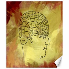 Brain Map Canvas 20  x 24  (Unframed)