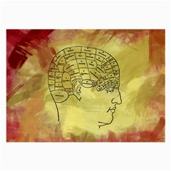 Brain Map Glasses Cloth (Large, Two Sided)