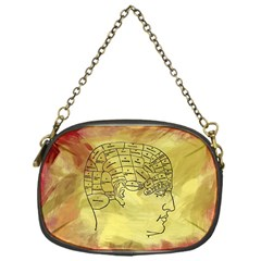 Brain Map Chain Purse (one Side)