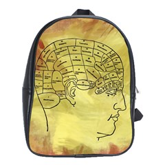 Brain Map School Bag (large)