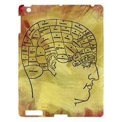 Brain Map Apple Ipad 3/4 Hardshell Case