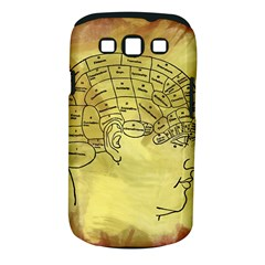 Brain Map Samsung Galaxy S Iii Classic Hardshell Case (pc+silicone)