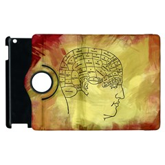 Brain Map Apple iPad 3/4 Flip 360 Case