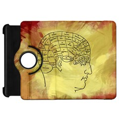 Brain Map Kindle Fire HD 7  (1st Gen) Flip 360 Case