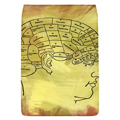 Brain Map Removable Flap Cover (small)