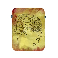 Brain Map Apple iPad Protective Sleeve