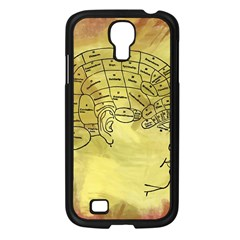 Brain Map Samsung Galaxy S4 I9500/ I9505 Case (Black)