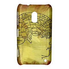 Brain Map Nokia Lumia 620 Hardshell Case