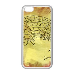 Brain Map Apple iPhone 5C Seamless Case (White)