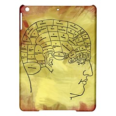 Brain Map Apple Ipad Air Hardshell Case