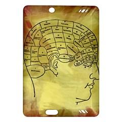 Brain Map Kindle Fire HD 7  (2nd Gen) Hardshell Case