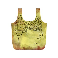 Brain Map Reusable Bag (S)