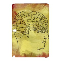 Brain Map Samsung Galaxy Tab Pro 10.1 Hardshell Case