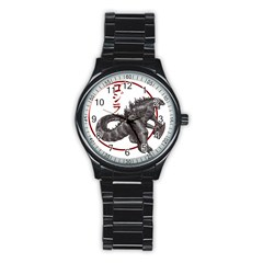 Gojired1 Sport Metal Watch (black)