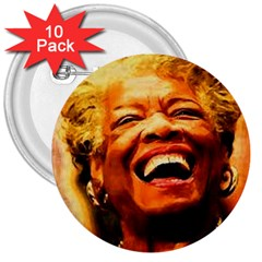 Angelou 3  Button (10 pack)