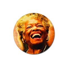 Angelou Magnet 3  (Round)