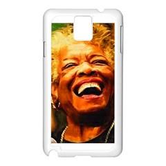 Angelou Samsung Galaxy Note 3 N9005 Case (White)