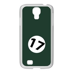 British Racing Green Samsung Galaxy S4 I9500/ I9505 Case (white)