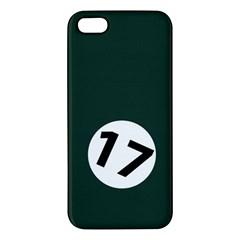 British Racing Green iPhone 5S Premium Hardshell Case