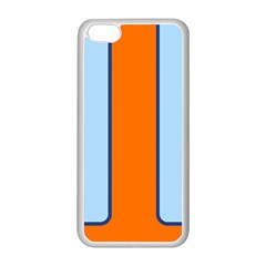 Gulf No Logo Apple Iphone 5c Seamless Case (white)