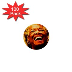 Angelou 1  Mini Button (100 pack)