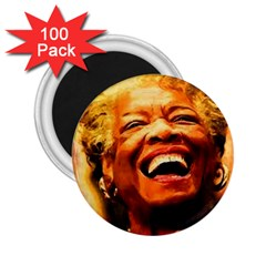 Angelou 2.25  Button Magnet (100 pack)