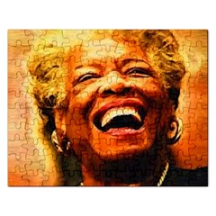 Angelou Jigsaw Puzzle (Rectangle)