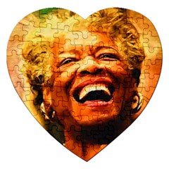 Angelou Jigsaw Puzzle (Heart)