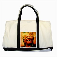 Angelou Two Toned Tote Bag