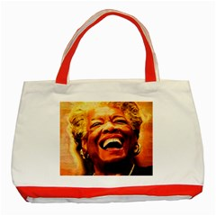 Angelou Classic Tote Bag (Red)