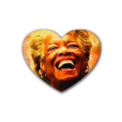 Angelou Drink Coasters (Heart)