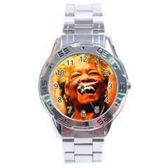 Angelou Stainless Steel Watch