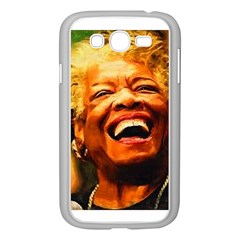 Angelou Samsung Galaxy Grand DUOS I9082 Case (White)