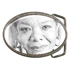 Maya  Belt Buckle (Oval)