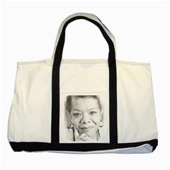 Maya  Two Toned Tote Bag