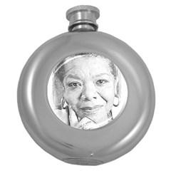 Maya  Hip Flask (Round)