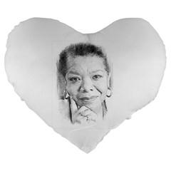 Maya  19  Premium Heart Shape Cushion