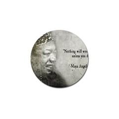 Maya Angelou Golf Ball Marker 10 Pack