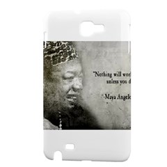 Maya Angelou Samsung Galaxy Note 1 Hardshell Case