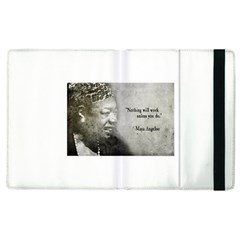 Maya Angelou Apple iPad 3/4 Flip Case